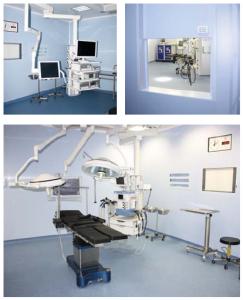 SHD. Предоперационные комнаты и палаты интенсивной терапии